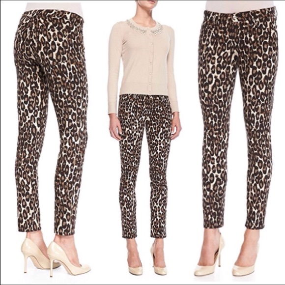 058649aa6697 kate spade Denim - Kate Spade Leopard Jeans